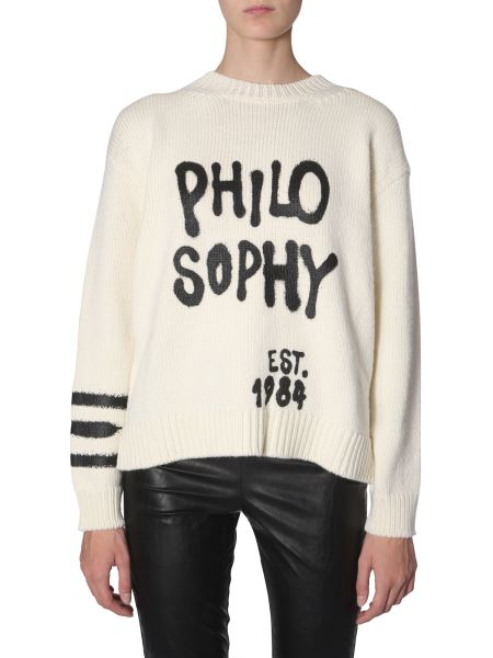 Philosophy Di Lorenzo Serafini - Wool Sweater With Logo