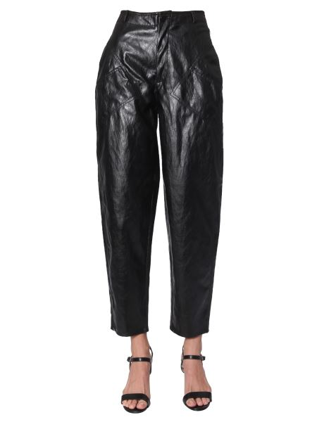 Philosophy Di Lorenzo Serafini - Crumbled Effect Tapered Trousers