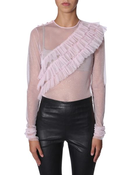 Philosophy Di Lorenzo Serafini - Tulle Blouse With Strass