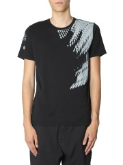 STONE ISLAND SHADOW PROJECT - T-SHIRT GIROCOLLO