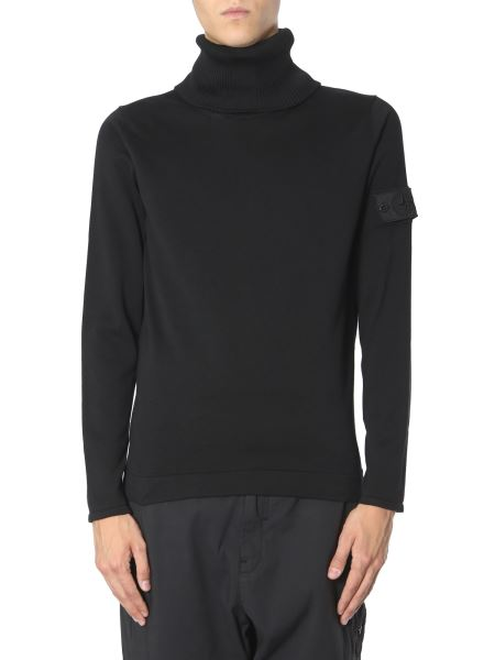 Stone Island Shadow Project - High Neck Cotton Sweater