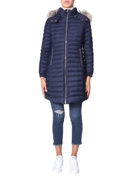 "Tatras - ""cima"" Wool Down Jacket With Removable Hood"