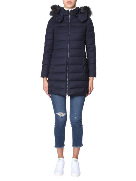 "Tatras - ""laviana"" Wool Down Jacket With Removable Hood"