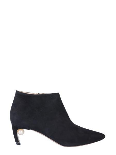 Nicholas Kirkwood - Mira Pearl Leather Ankle Boot