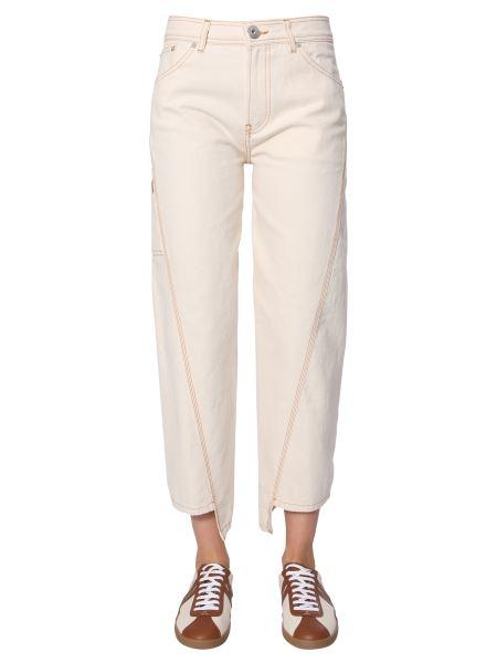 Lanvin - Asymmetrical Denim Trousers