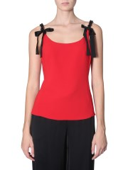 BOUTIQUE MOSCHINO - TOP CON DETTAGLIO CATENA