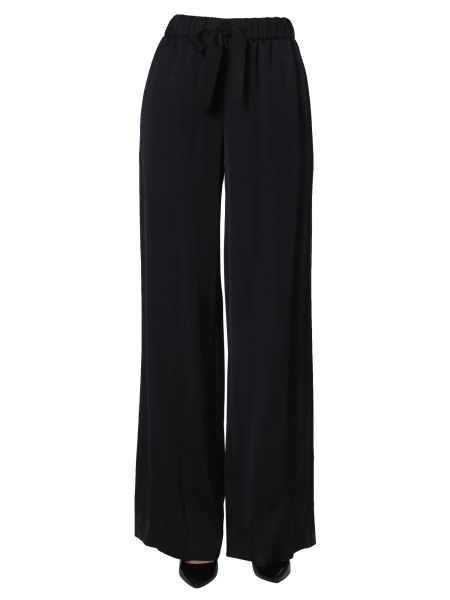Boutique Moschino - Wide Pants With Elasticated Waistband