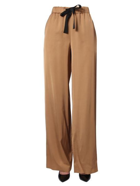 Boutique Moschino - Wide Pants With Elastic Waistband