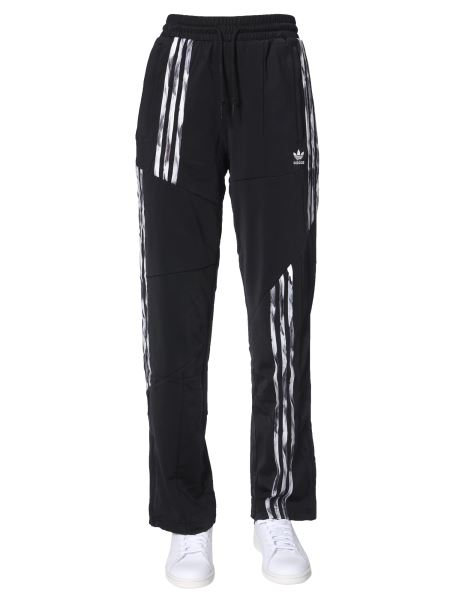 Adidas Originals By Danielle Cathari - Jogging Pants With Three Destructured Stripes