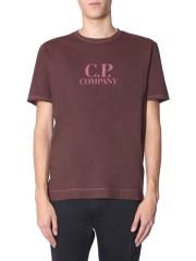C.P. COMPANY - T-SHIRT GIROCOLLO
