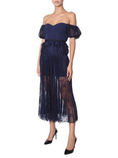 Self-portrait - Single Shoulder Lace Dress