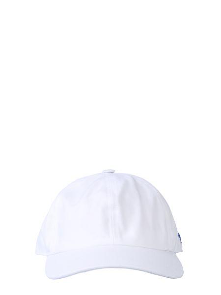 Maison Kitsuné - Cappello Da Baseball Con Patch Tricolor Fox