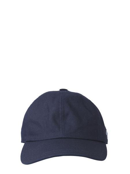 Maison Kitsuné - Cotton Baseball Cap With Tricolor Fox Patch