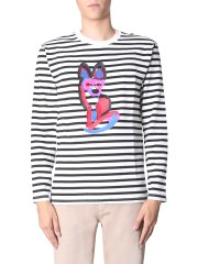 "MAISON KITSUNÉ - T-SHIRT ""ACIDE FOX"""