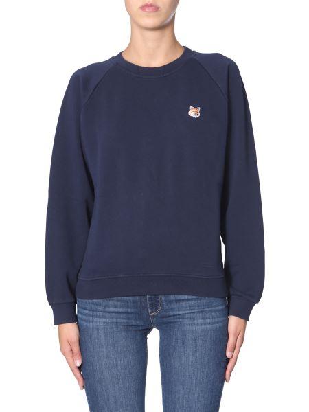 Maison Kitsuné - Cotton Sweatshirt With Fox Head Patch