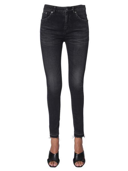 Saint Laurent - Skinny Fit Fresh Cotton Denim Jeans