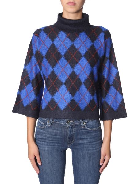 Ps By Paul Smith - High Neck Mohair Sweater