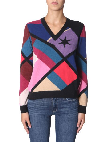 Ps By Paul Smith - Maglia Scollo A V