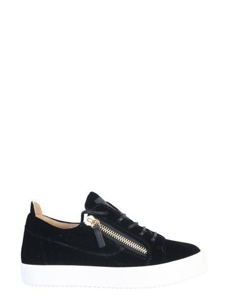 Giuseppe Zanotti - Gail Printed Velvet Sneaker