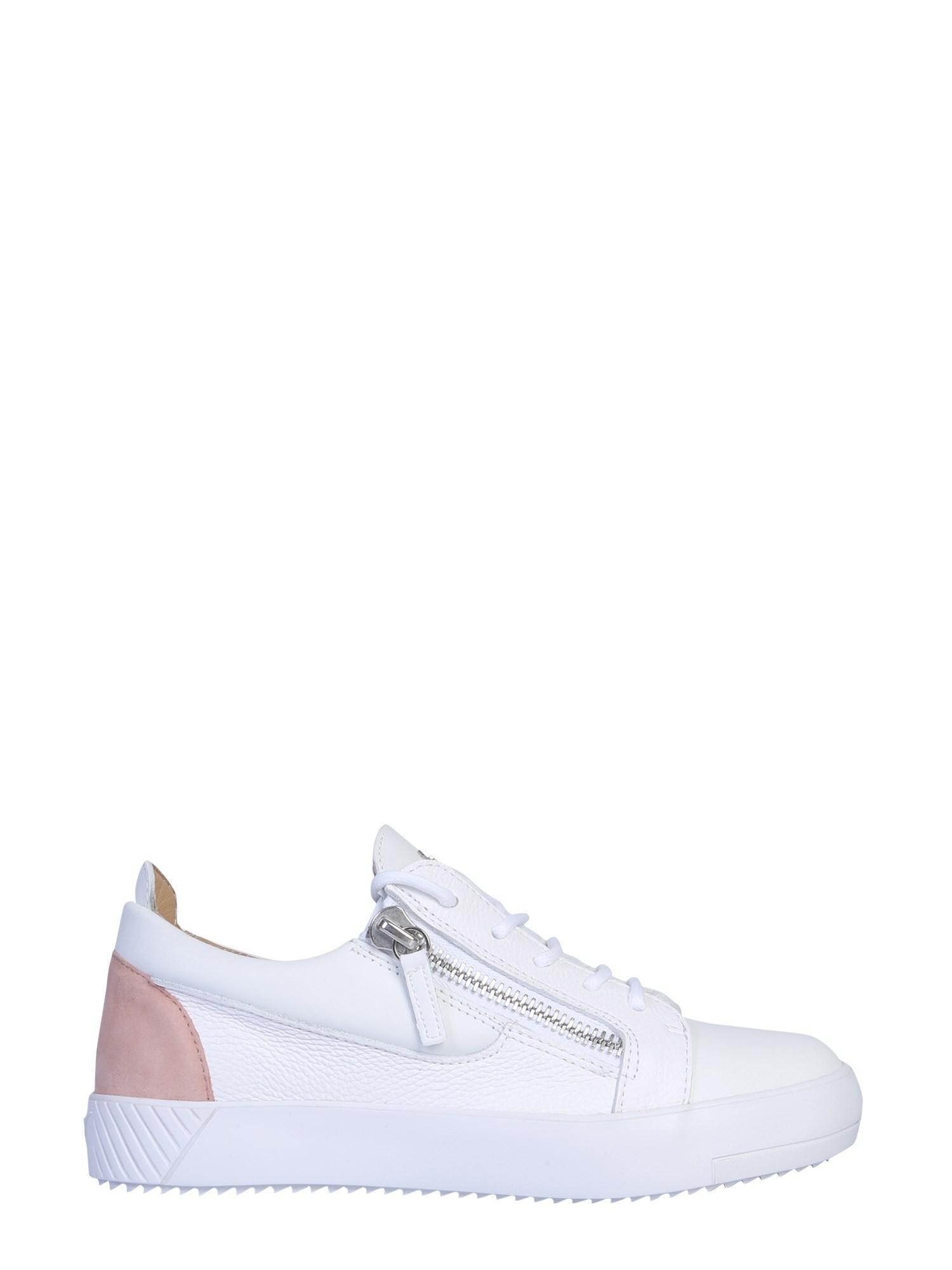 Giuseppe zanotti leather sneaker - giuseppe zanotti - Modalova