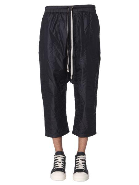 Rick Owens Drkshdw - Cropped Cargo Pants