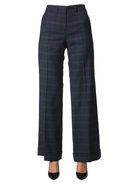 Ps By Paul Smith - Wool Pants With Checks