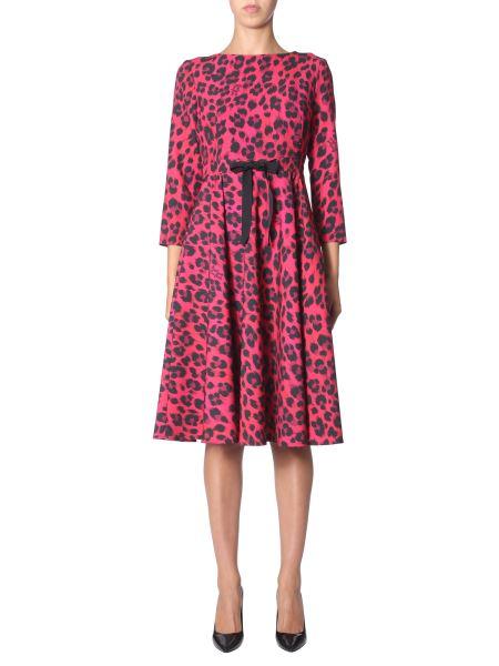 Boutique Moschino - Midi Dress With Animal Fantasy Print