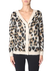 BOUTIQUE MOSCHINO - CARDIGAN ANIMALIER