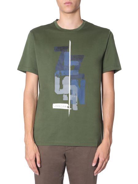 Z Zegna - T-shirt Girocollo