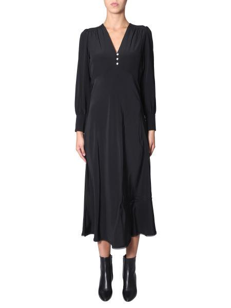 Mcq Alexander Mcqueen - Silk Dress With Buttons