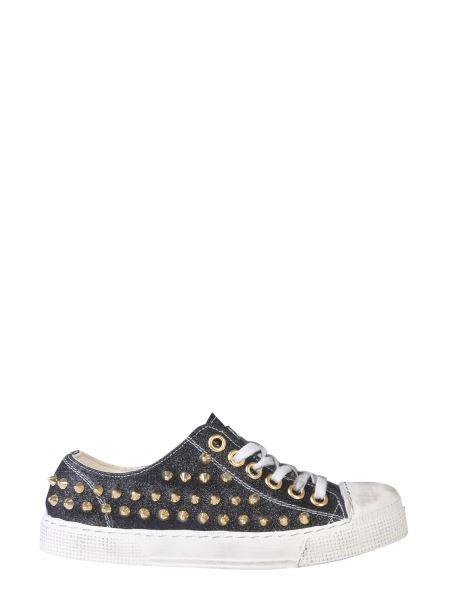 Gienchi - Jean Michael Low Sneaker In Glitter Fabric