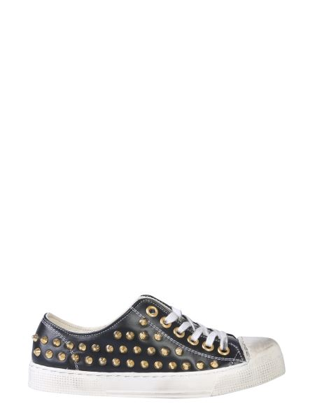 Gienchi - Jean Michael Faux Leather Low Sneaker