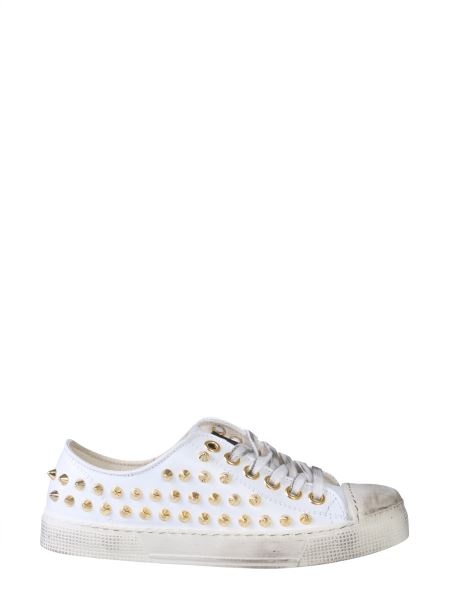 Gienchi - Jean Michael Faux Leather Low Sneaker