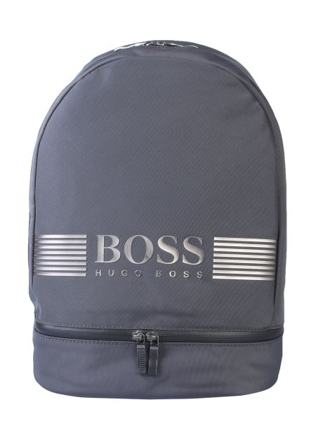 Boss - Nylon Backpack With Logo