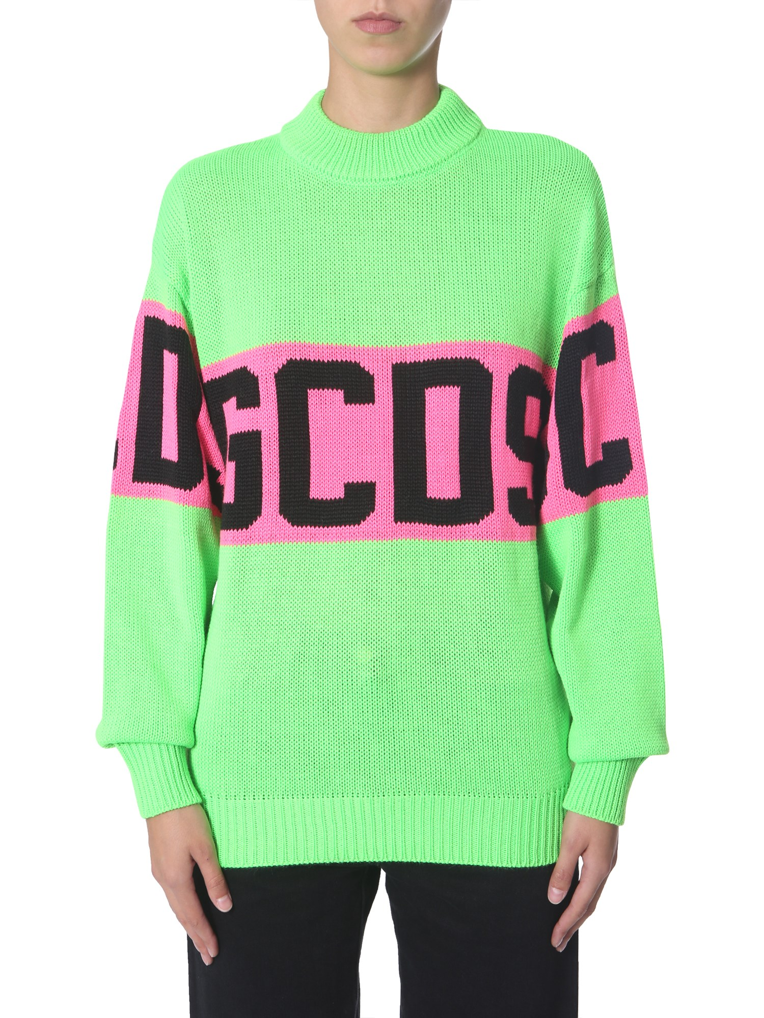 Gcds  CREW NECK SWEATER