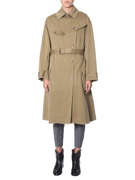 """Isabel Marant Étoile - Trench """"gabao"""" In Cotone"""