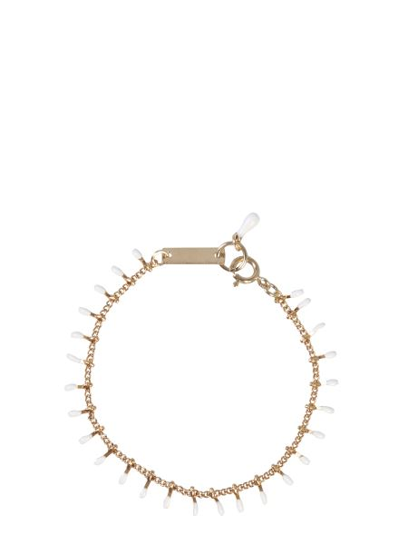 Isabel Marant - Brass Bracelet With Resin Details