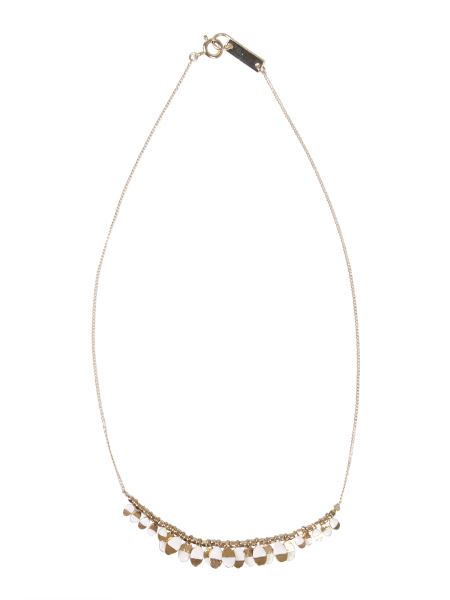 Isabel Marant - Brass Necklace With Resin Details