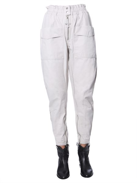 "Isabel Marant Étoile - ""lecia"" Cotton Trousers With Pockets"