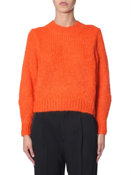 "Isabel Marant - ""ivah"" Knit Mohair Sweater"
