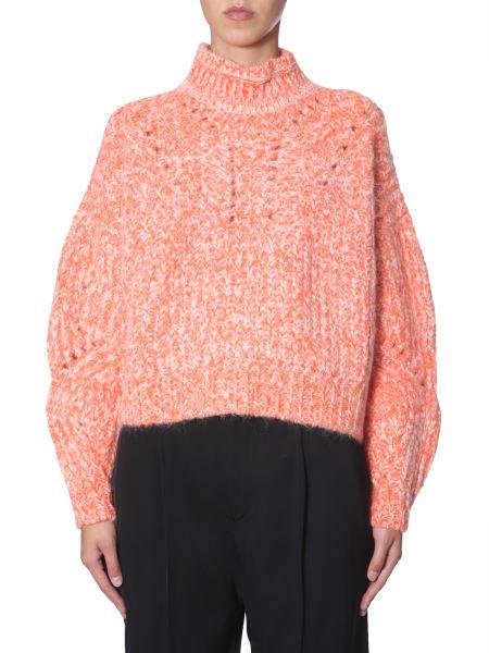 "Isabel Marant - ""jarren"" Alpaca High Neck Sweater"