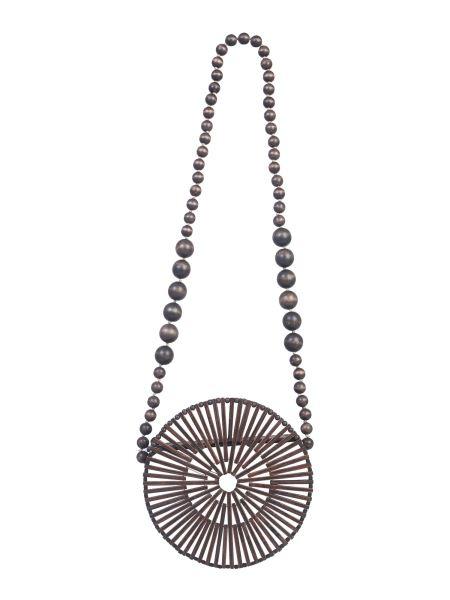 Cult Gaia - Moon Bamboo Shoulder Bag