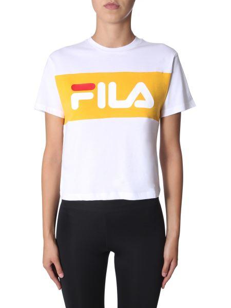 "Fila - ""allison"" Color Block T-shirt With Logo"