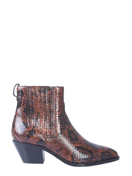 Ash - Floyd Bis Pythoned Leather Boot