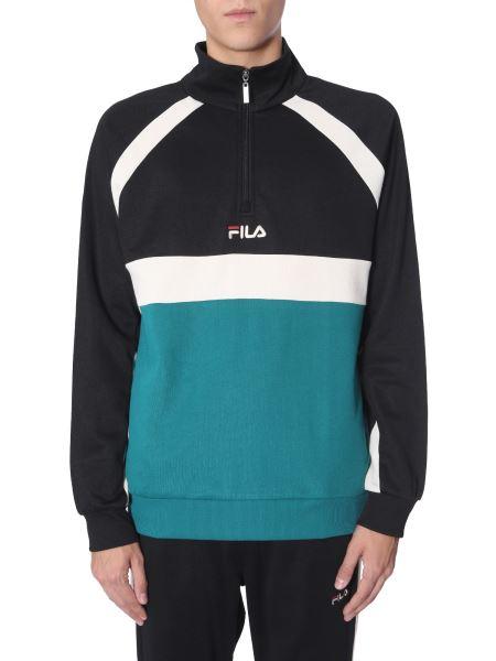 "Fila - ""oligert"" Track Sweatshirt With Contrast Details"