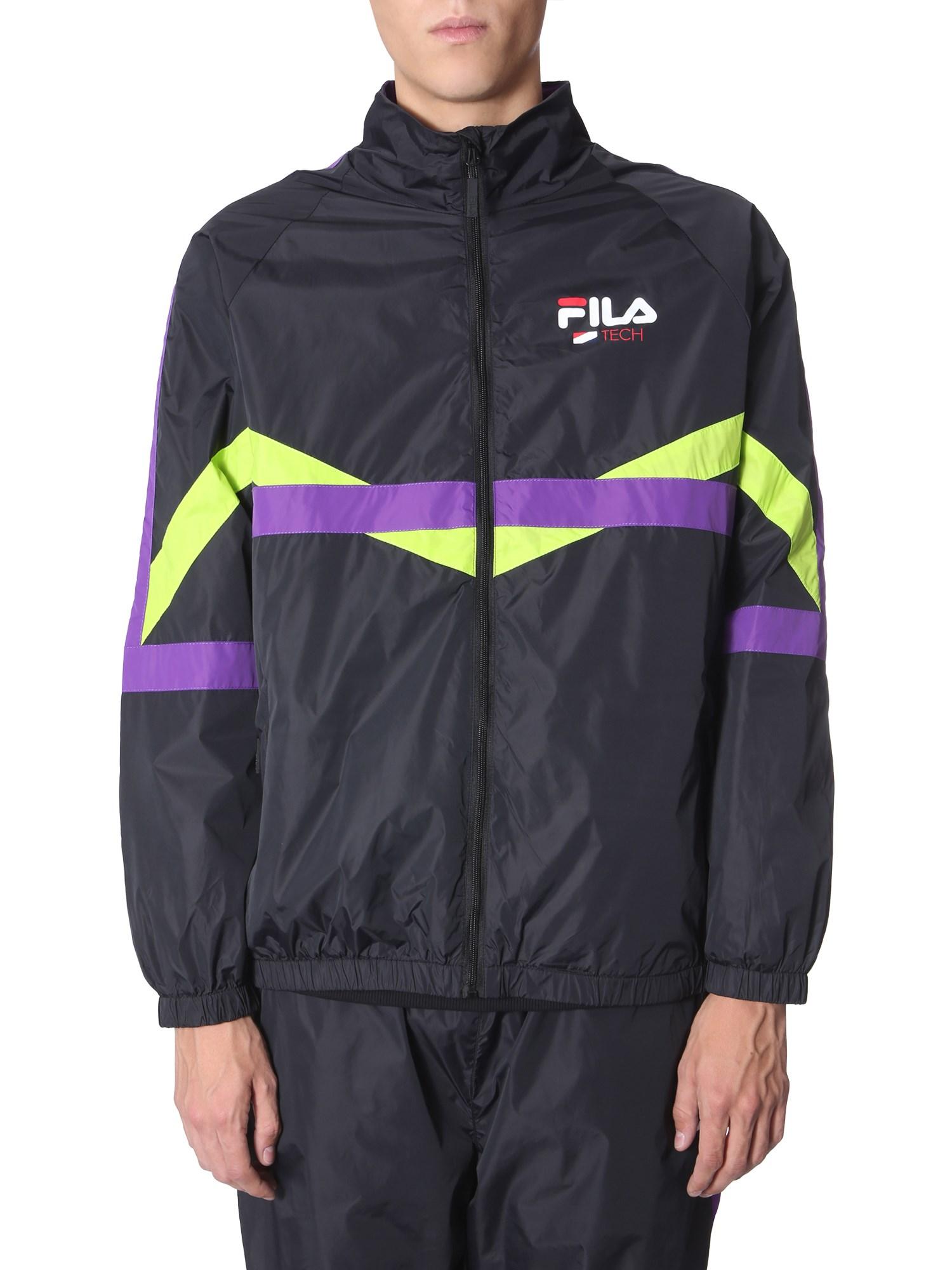 fila track sweatshirt with zip