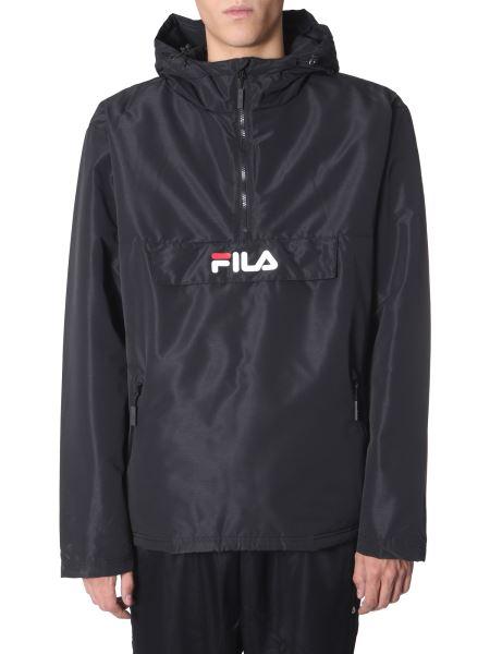 "Fila - ""michirou"" Anorak With Logo"