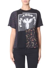 "MCQ ALEXANDER MCQUEEN - T-SHIRT ""FREE YOUR SOUL"""
