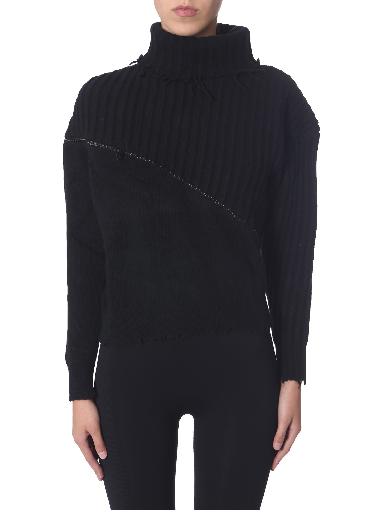 Ben Taverniti Unravel Project Tops TURTLENECK SWEATER