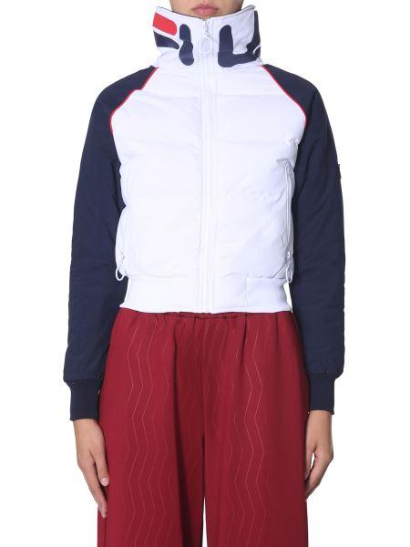 """Fila - """"maiko"""" Down Jacket With Logo"""